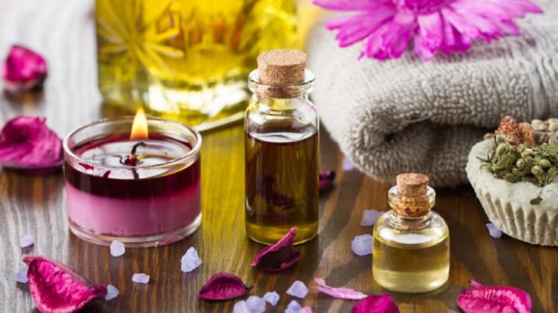 Aromaterápiás masszázs